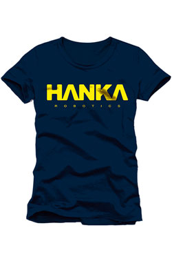 Ghost in the Shell T-Shirt Hanka Robotics Size L