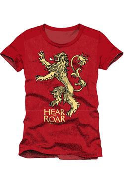 Game of Thrones T-Shirt Lannister Hear Me Roar Size L