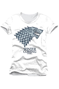 Game of Thrones T-Shirt Stark Winter Is Coming Size XL