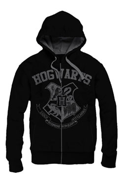 Harry Potter Hooded Sweater Hogwarts School Vintage Size L