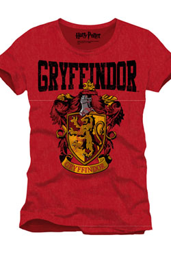 Harry Potter T-Shirt Gryffindor Crest Size L