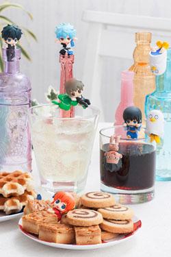 Gintama Ochatomo Series Trading Figure 5 cm Can I have a short break? Assortment (8)