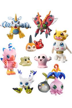 Digimon Adventure Digicolle! Series Trading Figure 5 cm Data 2 Assortment (8)