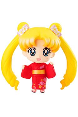 Sailor Moon Petit Chara Pretty Soldier Mini Figure Usagi Tsukino Yukata Ver. 5 cm