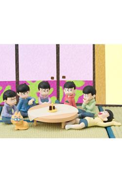 Osomatsu-san Palmate Mini Figures 6-Pack We are family! 6 cm
