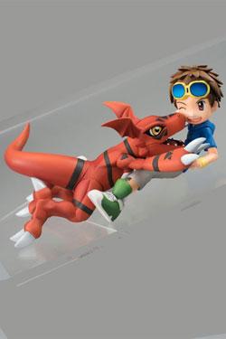Digimon Tamers G.E.M. Series PVC Statue Matsuda Takato & Guilmon 14 cm
