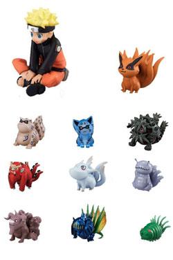 Naruto Mini Figures 11-Pack Naruto & Bijyu 3 - 7 cm