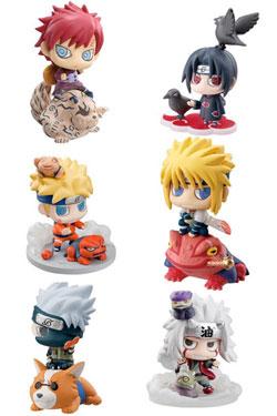 Naruto Shippuden Petit Chara Land Trading Figure 6 cm Kuchiyose 2 Assortment (10)
