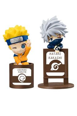 Naruto Ochatomo Series Trading Figure 2-Pack Kakashi & I JS Set 5 cm