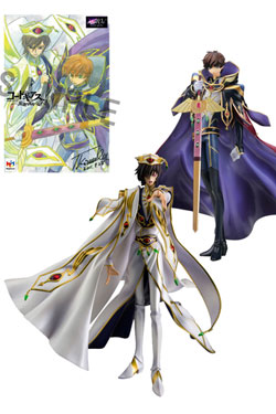 Code Geass: Lelouch of the Rebellion R2 G.E.M. Series PVC Statues Set 1/8 Lelouch & Suzaku 25 cm