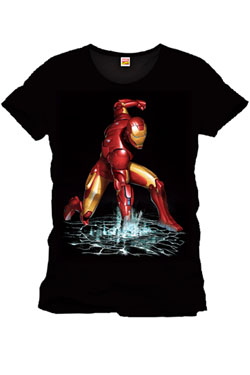 Iron Man T-Shirt Fist Size L