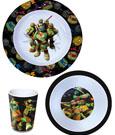 Teenage Mutant Ninja Turtles Breakfast Set Melamine