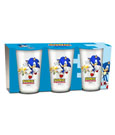 Sonic The Hedgehog Juice Glass 3-Pack