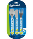 The Smurfs Kids Cutlery 3-Set
