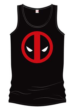 Deadpool Tank Top Eyes Size S
