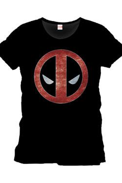 Deadpool T-Shirt Eyes Size L