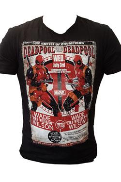 Deadpool T-Shirt Deadpool Kills Deadpool Size XL