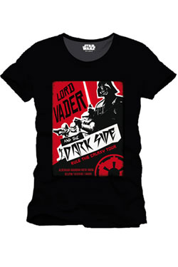Star Wars T-Shirt Rule The Galaxy Tour Size M