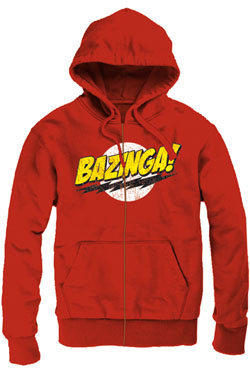 The Big Bang Theory Zipped Hooded Sweater Logo Size M