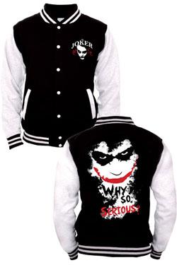 Batman Baseball Varsity Jacket Joker Size XL