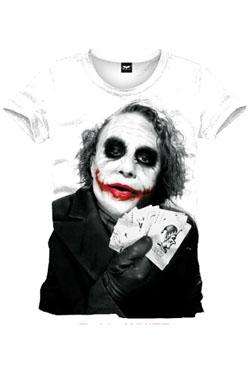 Batman T-Shirt Joker Poker Size XL
