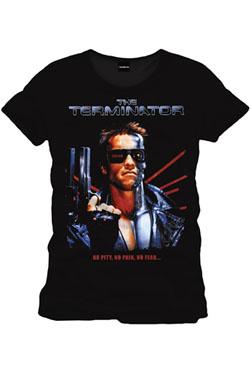 Terminator T-Shirt No Pity No Pain No Fear Size S