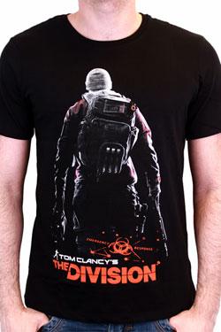 The Division T-Shirt Back Black Size M