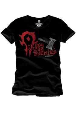 Warcraft T-Shirt Crush Your Enemies Size M
