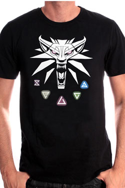 Witcher T-Shirt Witcher III Size M