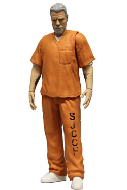 Sons of Anarchy Action Figure Orange Prison Variant Clay NYCC Exclusive 15 cm