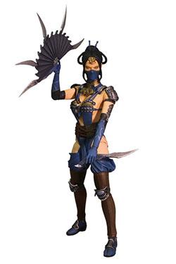Mortal Kombat X Series 2 Action Figure Kitana 15 cm