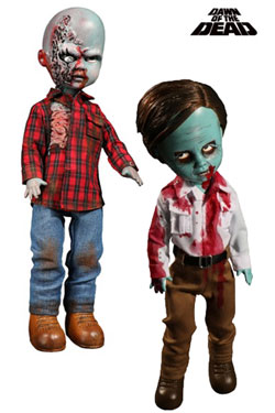 Dawn Of The Dead Living Dead Dolls 25 cm Flyboy & Plaid Shirt Zombie Assortment (6)