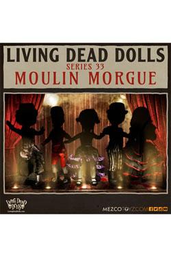 Living Dead Dolls Series 33 Dolls 25 cm Moulin Morgue Assortment (5)
