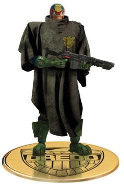 Judge Dredd Action Figure 1/12 Judge Dredd The Cursed Earth Previews Exclusive 17 cm