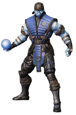 Mortal Kombat X Action Figure Sub-Zero Ice Variant Previews Exclusive 15 cm