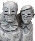 Batman 1966 Monolith Bust Dynamic Duo 13 cm