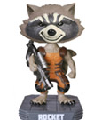 Guardians of the Galaxy Wacky Wobbler Bobble-Head Rocket Raccoon 18 cm
