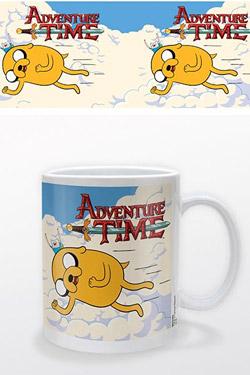 Adventure Time Mug Jake & Finn Flying