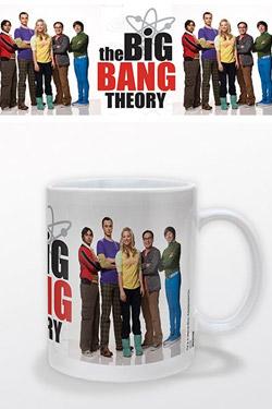 The Big Bang Theory Mug Group Portrait