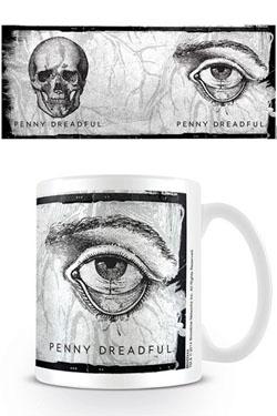 Penny Dreadful Mug Etchings