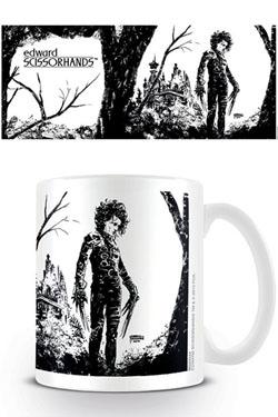 Edward Scissorhands Mug Black Ink