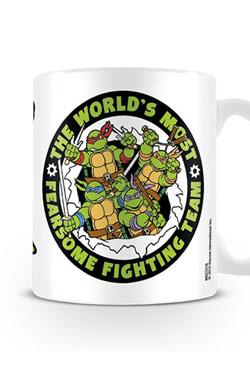 Teenage Mutant Ninja Turtles Mug Fearsome Fighting