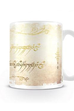 Lord of the Rings Mug Ring Inscription
