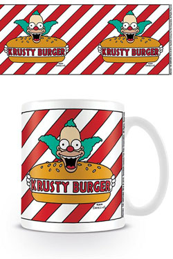Simpsons Mug Krusty Burger