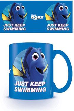 Finding Dory Mug Just Keep Swimming