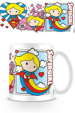 Justice League Mug Chibi Supergirl