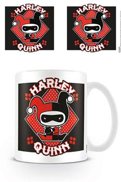 Justice League Mug Chibi Harley Quinn
