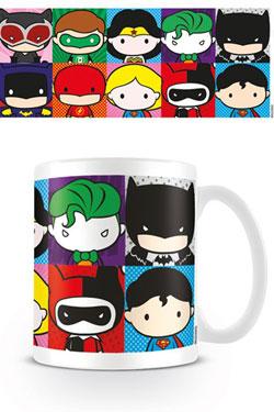 Justice League Mug Chibi Characters