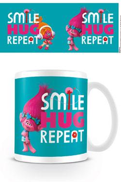 Trolls Mug Smile, Hug, Repeat