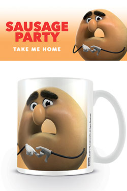 Sausage Party Mug Sammy Bagel Jr